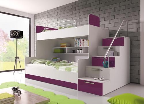 łóżko Piętrowe Raj 2 ładne łóżka Dziecięce
