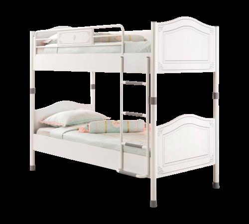 łóżko Piętrowe Dziecięce 90 X 200 Prowansalskie Selena