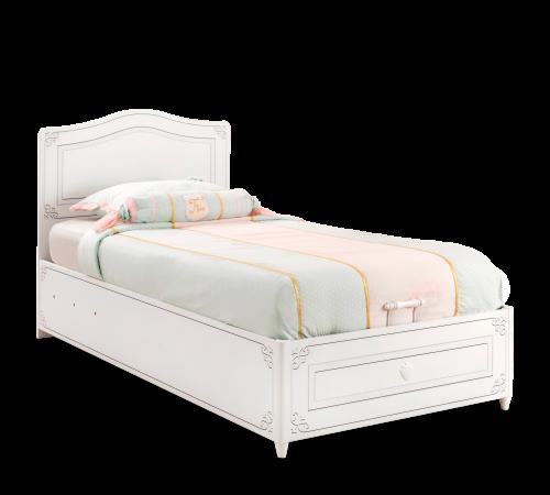 łóżko Dziecięce 100 X 200 Prowansalskie Z Pojemnikiem Na Pościel Selena