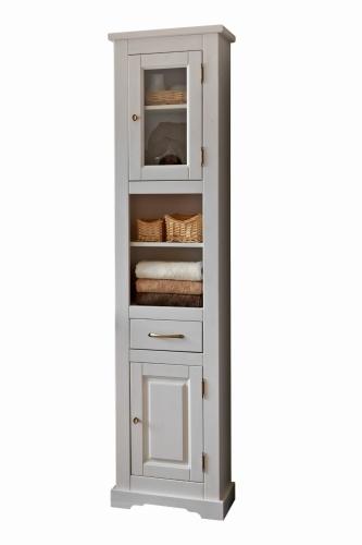 Witryna Wysoka Z Drewna Do łazienki Romantic 800 Meble łazienkowe