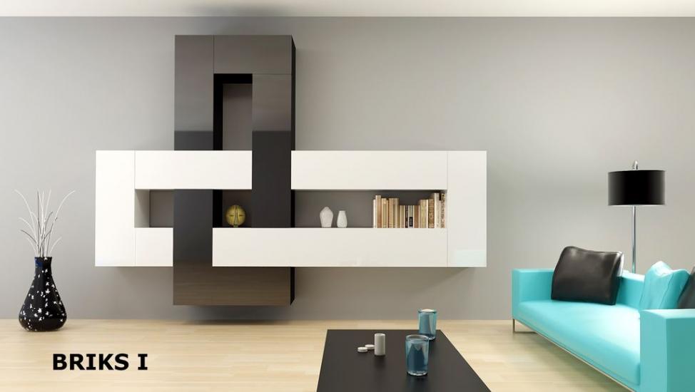 briks szafka wisz ca wb 120 p l tanie meble layman. Black Bedroom Furniture Sets. Home Design Ideas