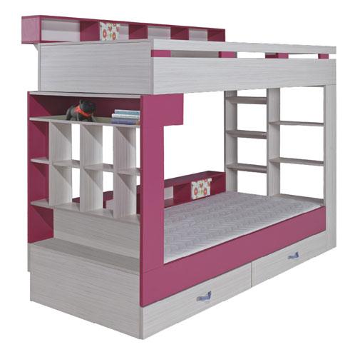 Meble Komi łóżko Piętrowe 14