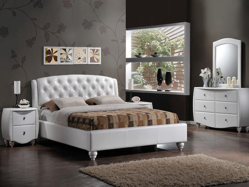 łóżka Nowoczesne Stylowe łóżka Drewniane łóżka Metalowe