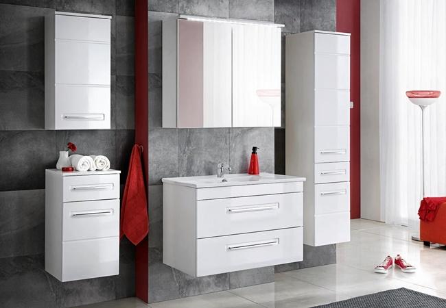Meble łazienkowe Eleganckie łazienki Homebook Castorama