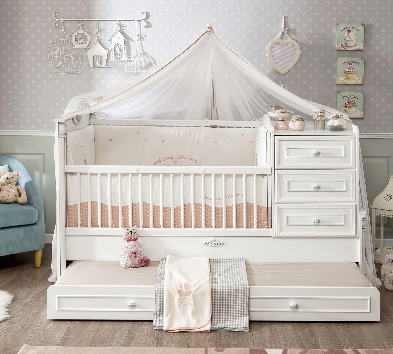 eczko dla niemowlaka z komod 163 x 83 eczko romantic meble systemowe tanie meble kuchenne. Black Bedroom Furniture Sets. Home Design Ideas