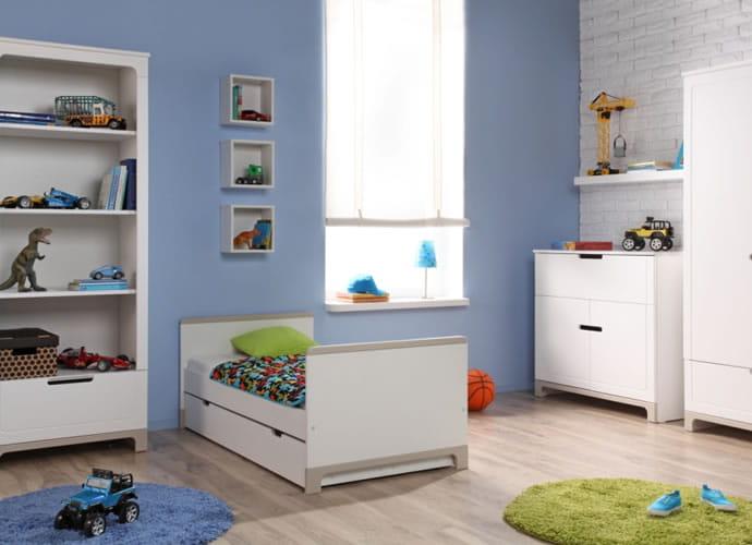 meble dziecięce mini tania skrzynia na zabawki meble