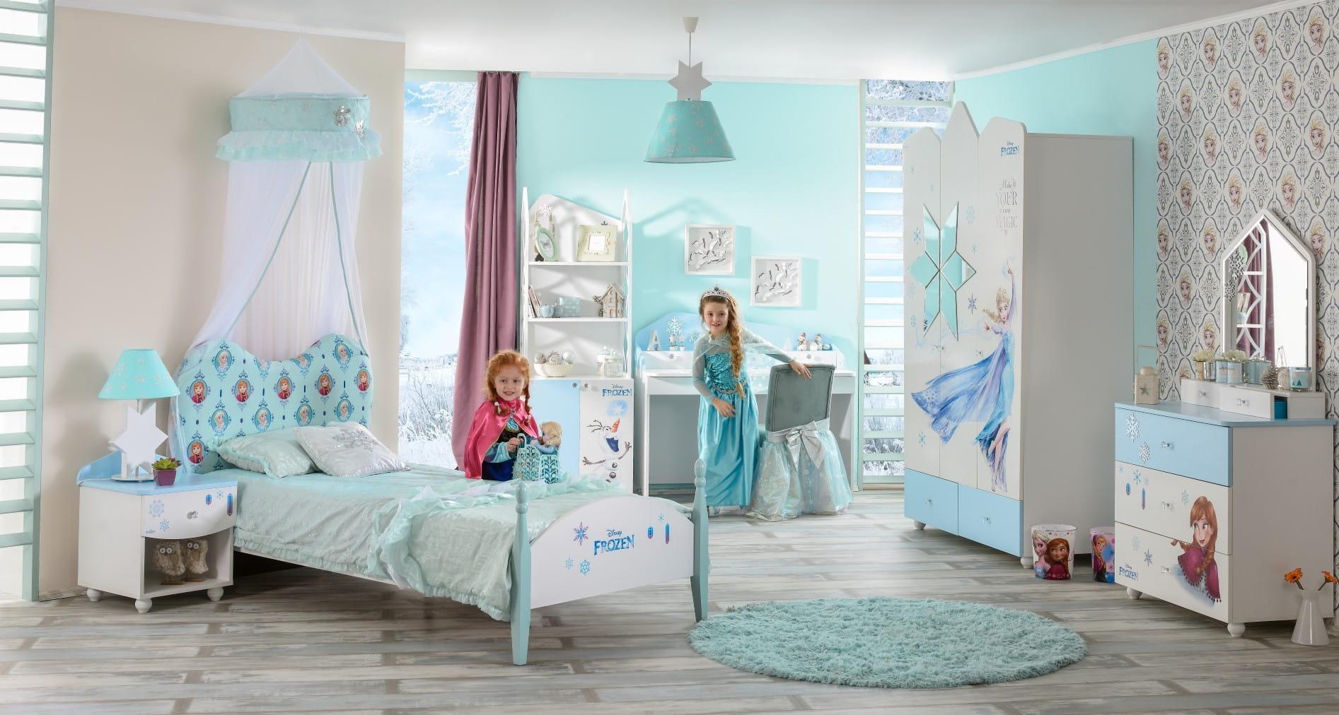Meble dzieci ce frozen szafa dzieci ca kr lowej niegu for Disney kinderzimmer