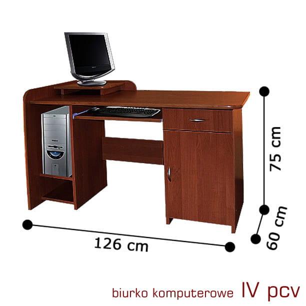 Biurko Pod Komputer 4 Pcv Praktyczne Funkcjonalne