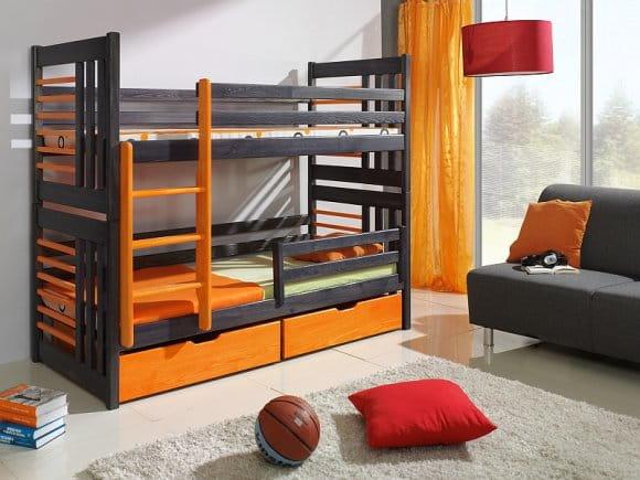 łóżko Piętrowe Piotruś Podwójne Spanie Dla Dzieci