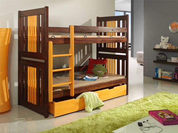łóżko Piętrowe Karol Podwójne Spanie Dla Dzieci