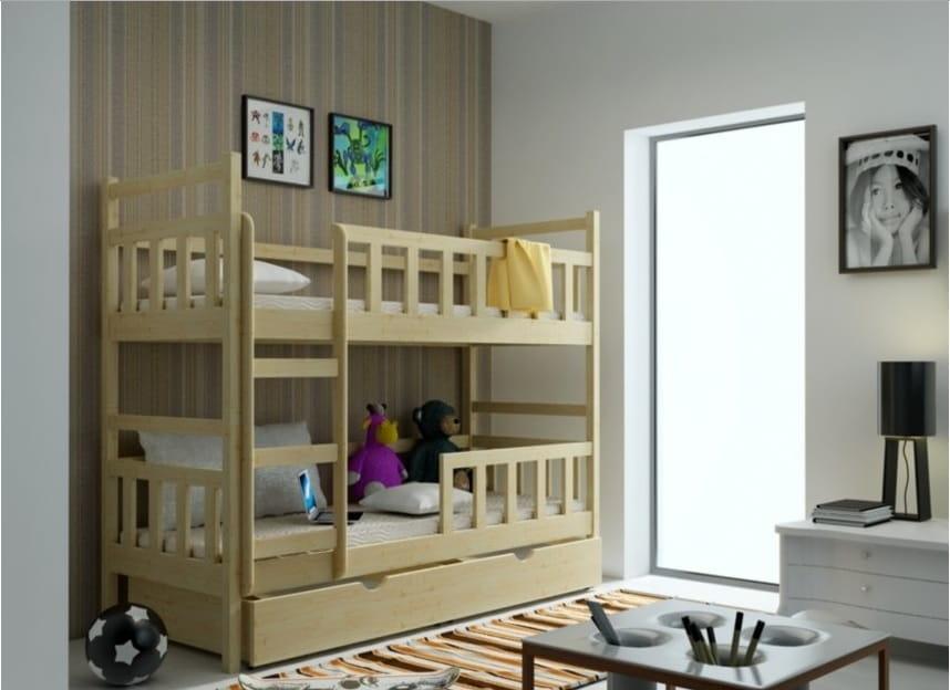 łóżko Piętrowe Baks 8 Podwójne Spanie Dla Dzieci