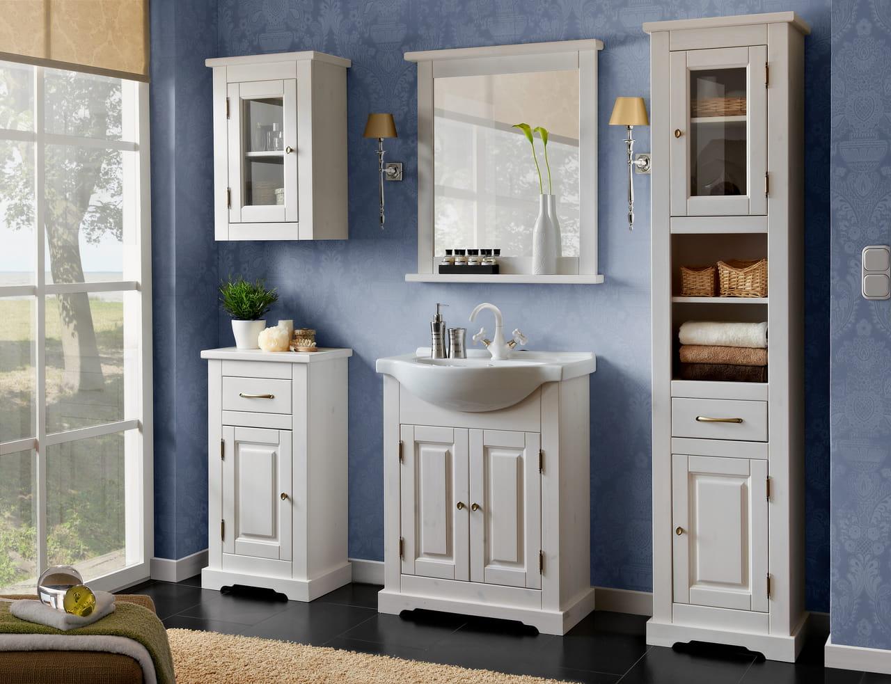 Drewniana Szafka Pod Umywalkę Do łazienki Romantic 65 Meble łazienkowe