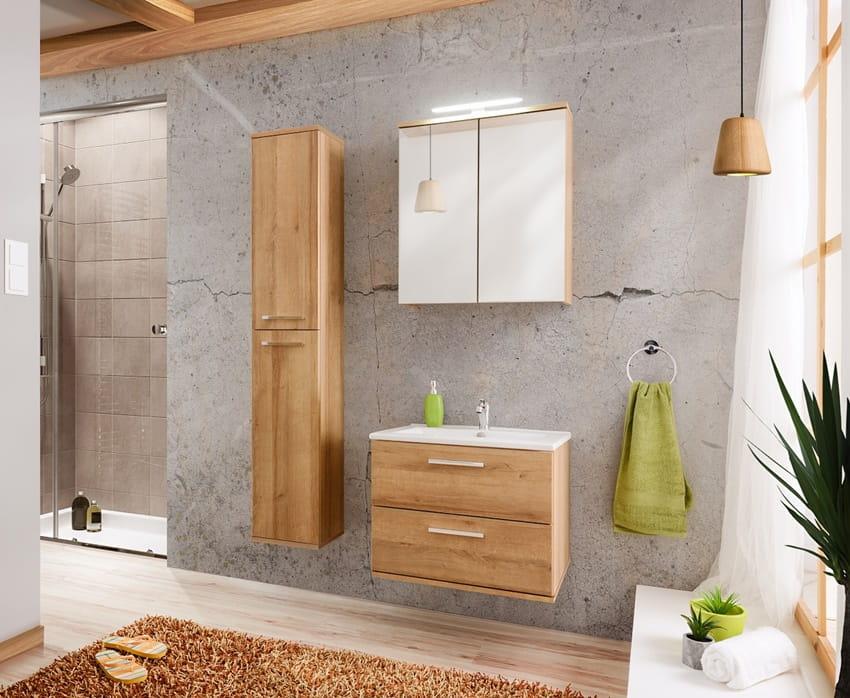Szafka Do łazienki Z Umywalką Remik Dąb 60