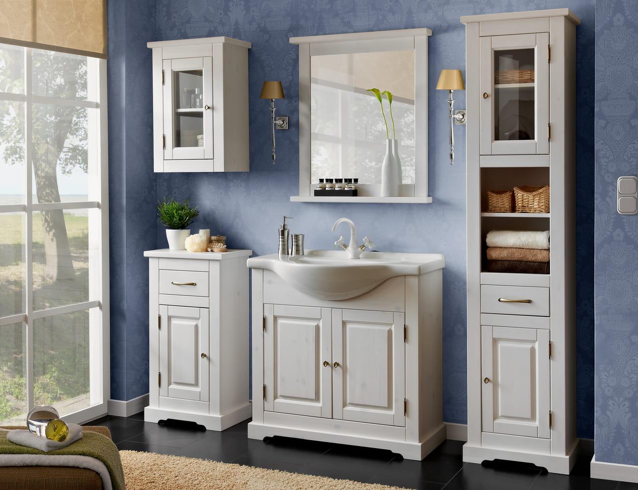 Drewniana Szafka Do łazienki Romantic Meble łazienkowe